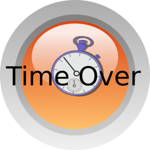 Time Over Clip Art at Clker.com.