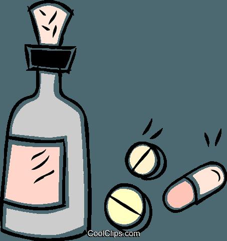 medicine Royalty Free Vector Clip Art illustration.