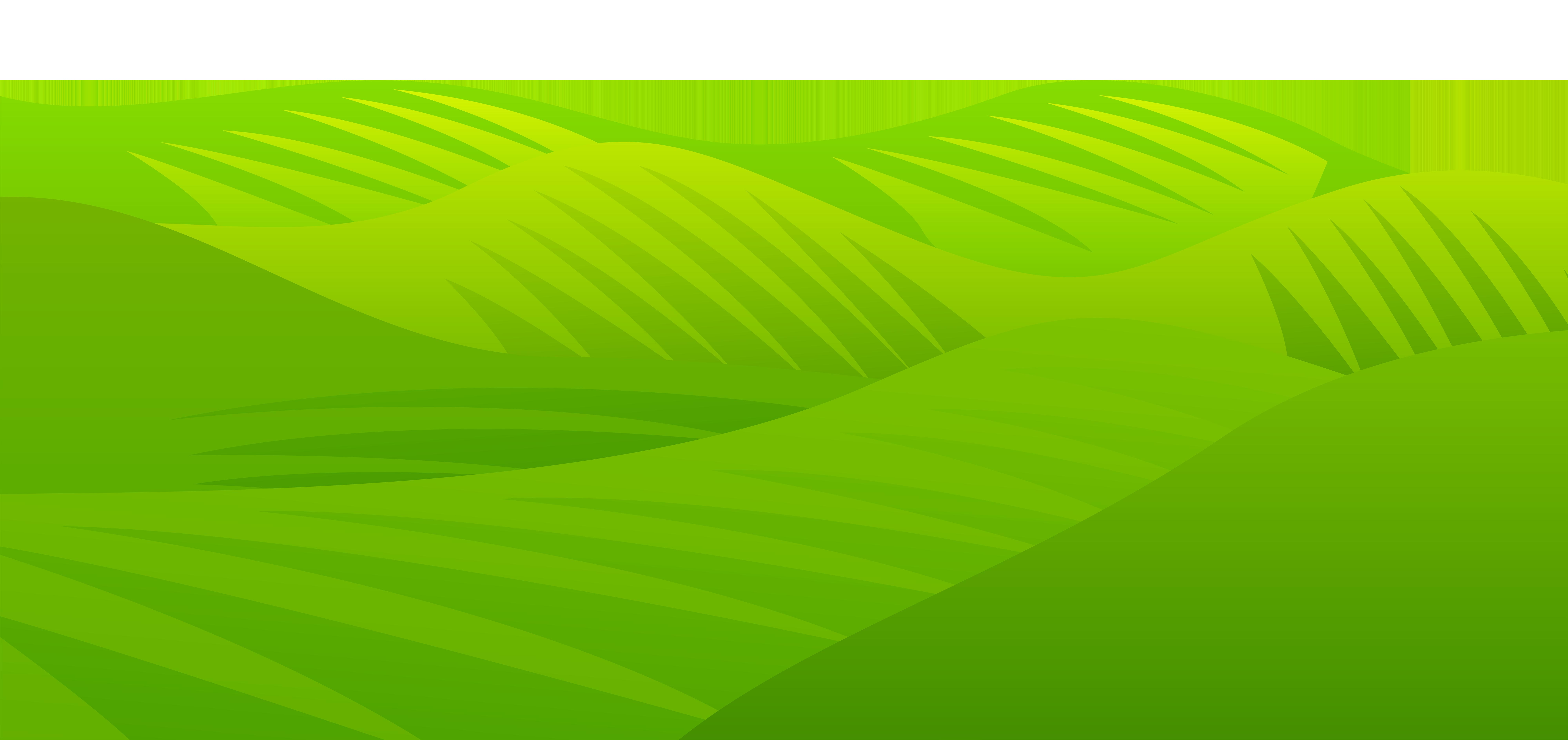 Grass Meadow Transparent PNG Clip Art Image.