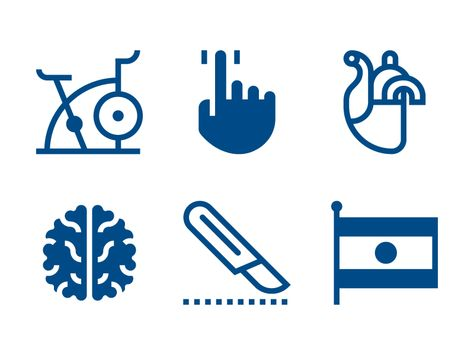 Medtronic Icons.