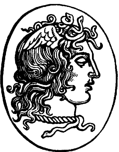 Medusa Greek mythology Epic poetry , Myth transparent.