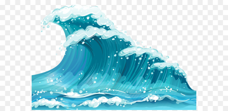 Wind wave Clip art.