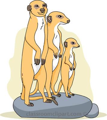 Meerkat Clipart.