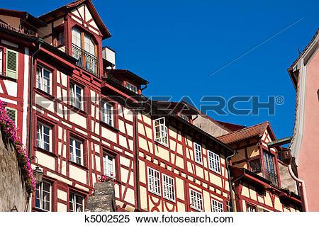 Stock Image of Meersburg at Lake Constance, Germany k5002525.