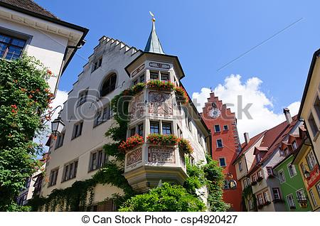 Picture of Meersburg, Germany.