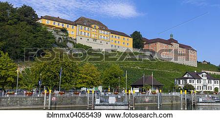 """Stock Photograph of """"State Winery Meersburg, Meersburg, Bavaria."""