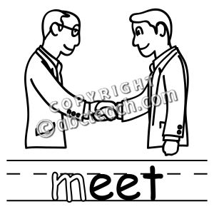 To Meet Clipart.