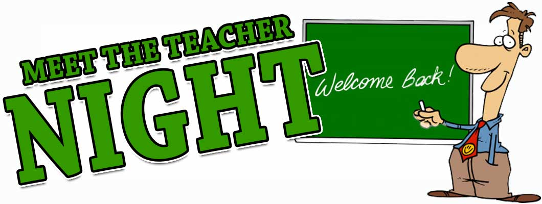 Elementary Meet The Teacher Night Clipart.