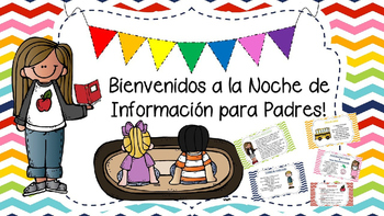 Open House/ Meet the Teacher EDITABLE SPANISH PowerPoint!!!.