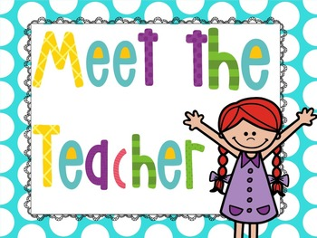 meet your teacher clipart clipground