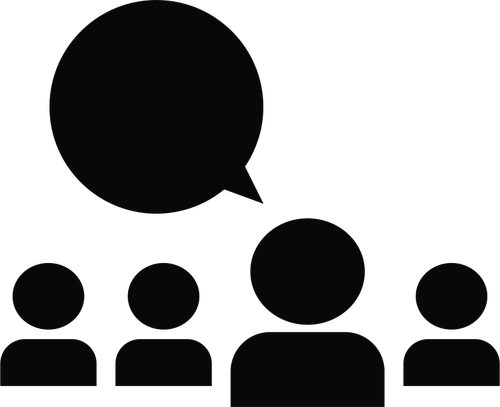 Meeting clipart black and white 1 » Clipart Portal.