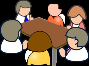 Teacher Meeting Clipart.