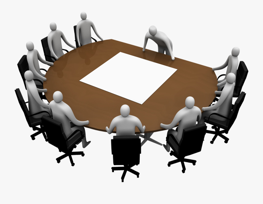 Transparent Meeting Clipart.