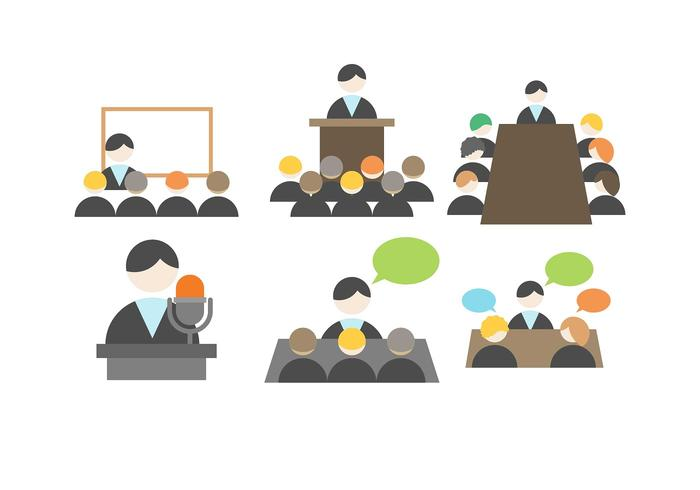 Business Meeting Vector.