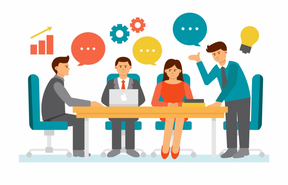 Download High Quality meeting clipart business Transparent.
