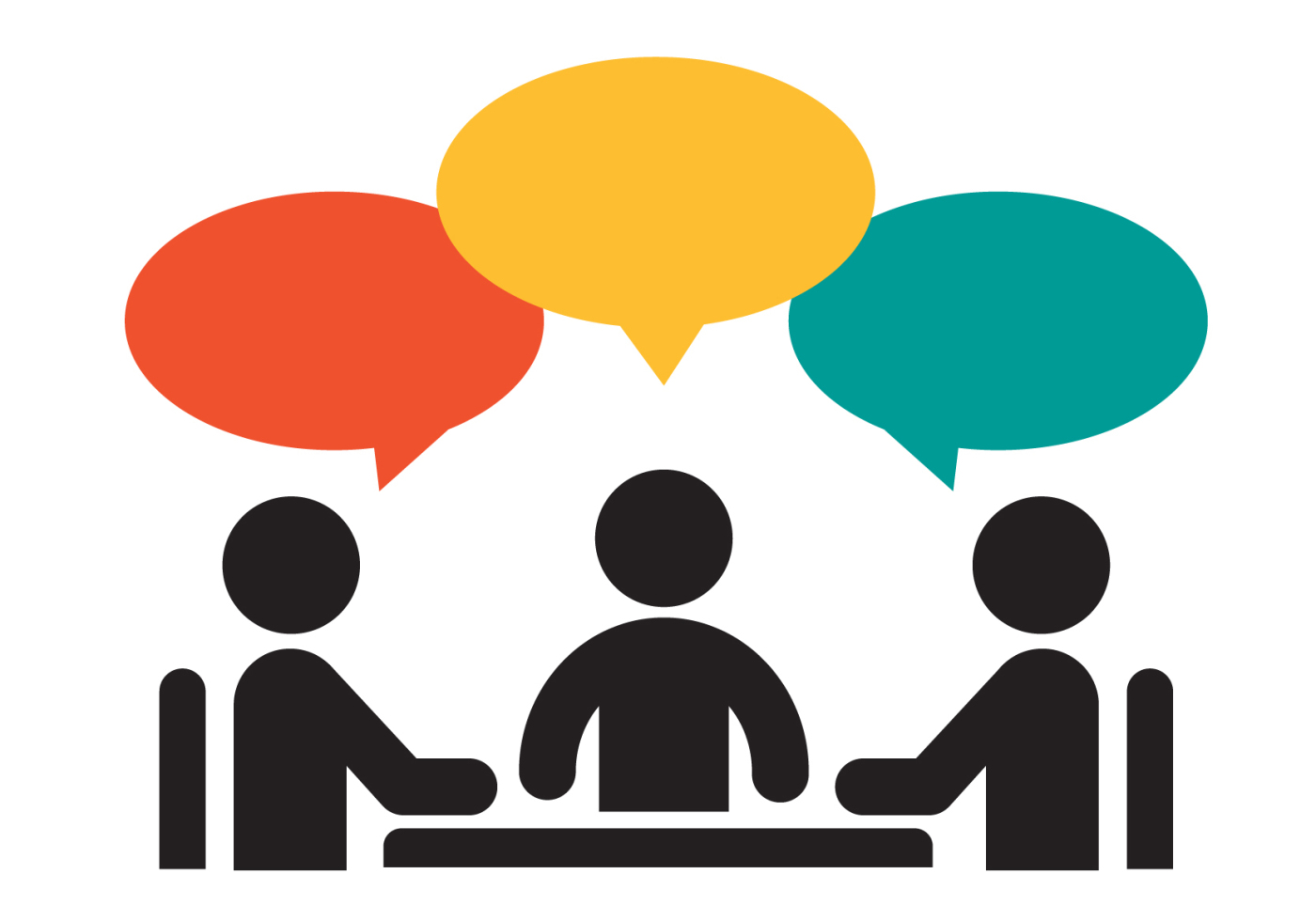 Download High Quality meeting clipart discussion Transparent.