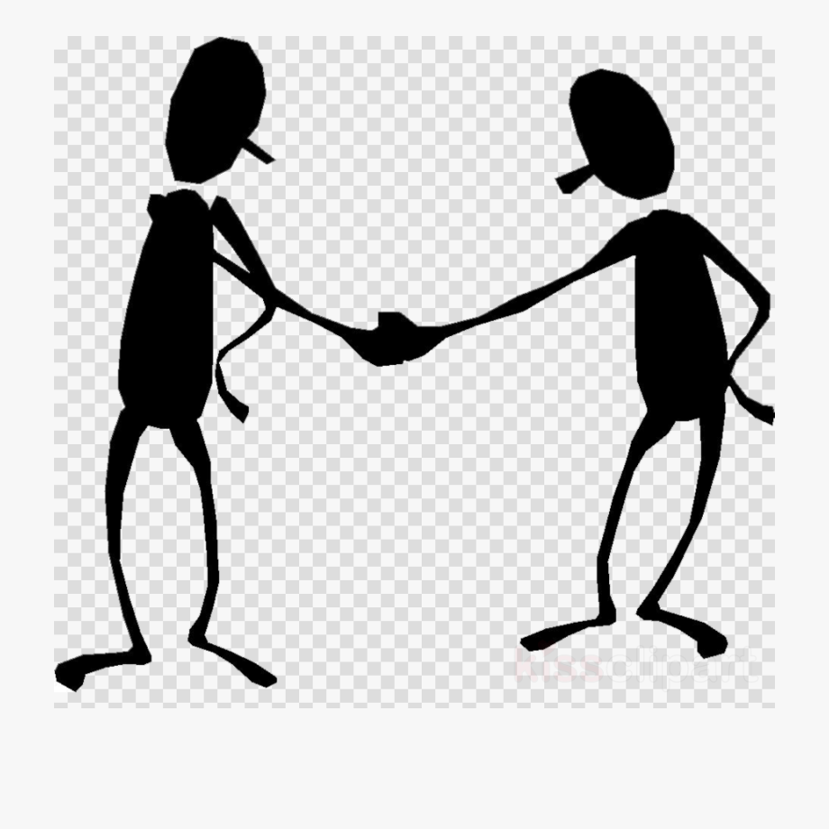 Two Hands Shaking Clipart.