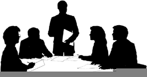 Download High Quality meeting clipart silhouette Transparent.