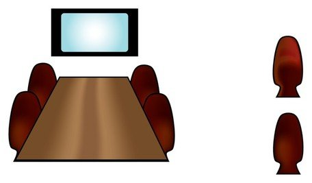 Conference Room Icon Vectors Clipart Picture Free Download.