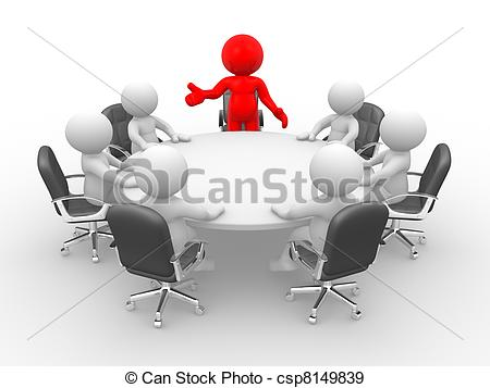 Meeting table clipart 10 » Clipart Station.