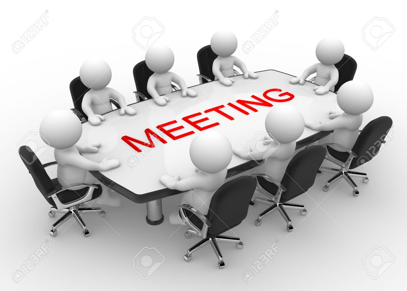 Meeting table clipart 3 » Clipart Station.