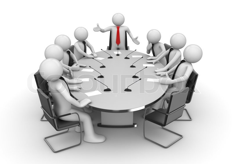 Meeting Table Clipart.