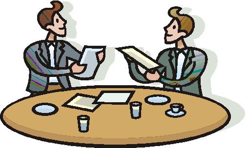 Meetings clipart.