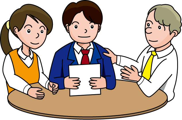 Business meeting clipart 4.