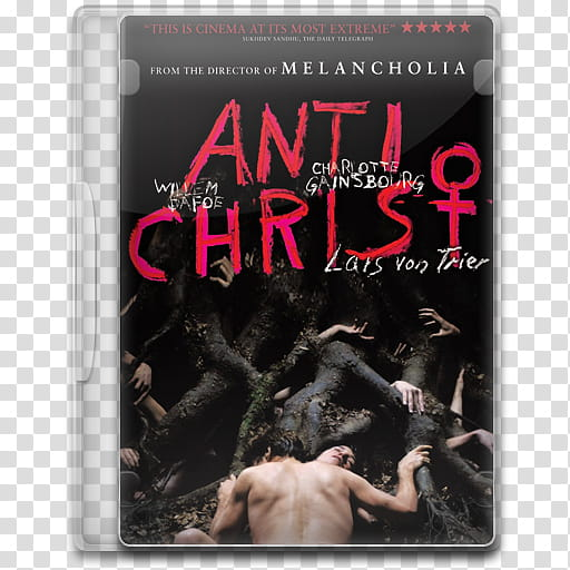 Movie Icon Mega , Antichrist, Anti Christ DVD case.