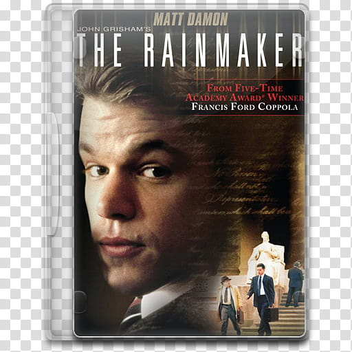 Movie Icon Mega , The Rainmaker, The Rainmaker DVD case icon.