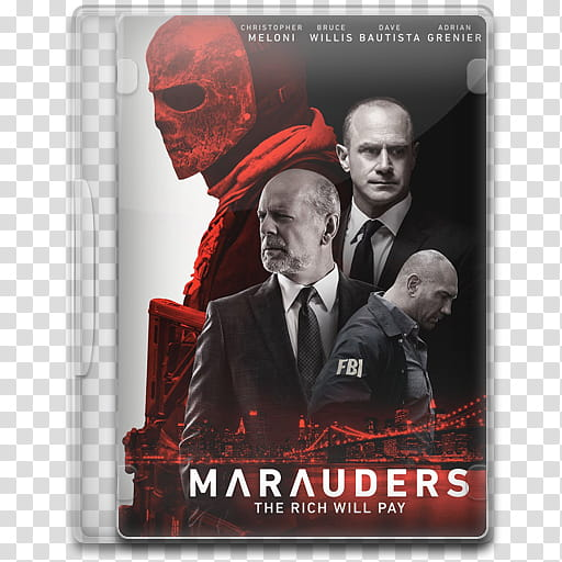 Movie Icon Mega , Marauders, Marauders DVD poster.