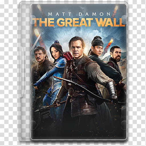 Movie Icon Mega , The Great Wall, The Great Wall DVD case.