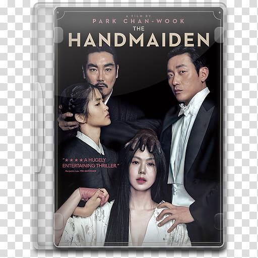Movie Icon Mega , The Handmaiden, The Handmaiden DVD.
