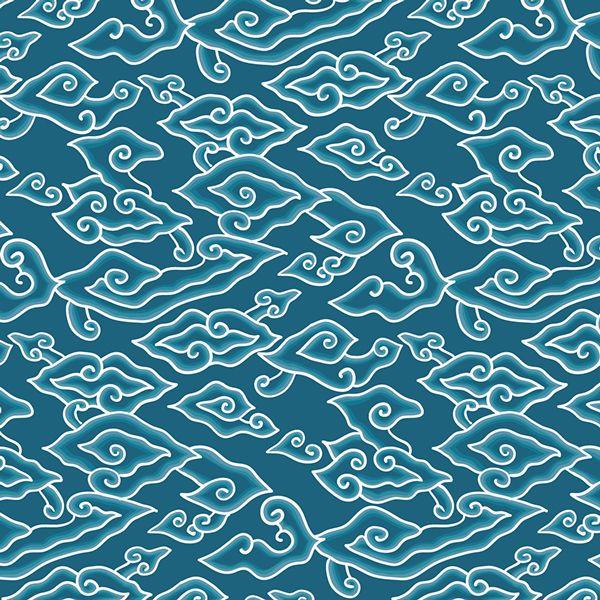 Megamendung Batik Pattern on Behance in 2019.