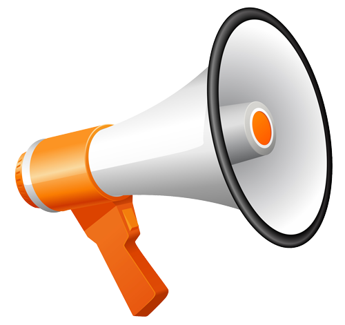 Free megaphone clipart the cliparts.