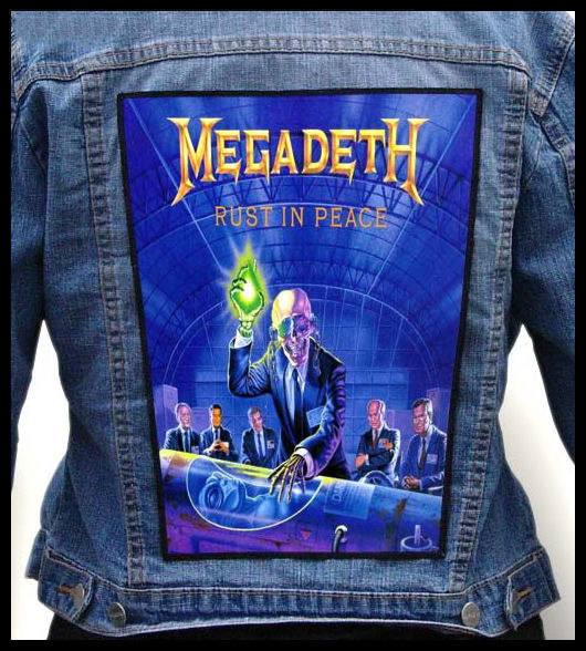 Megadeth Rust In Peace Clipart.