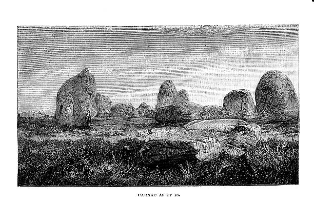 Carnac Megaliths Clip Art, Vector Images & Illustrations.