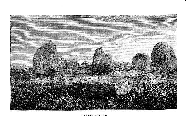 Carnac Megaliths Clip Art, Vector Images & Illustrations.