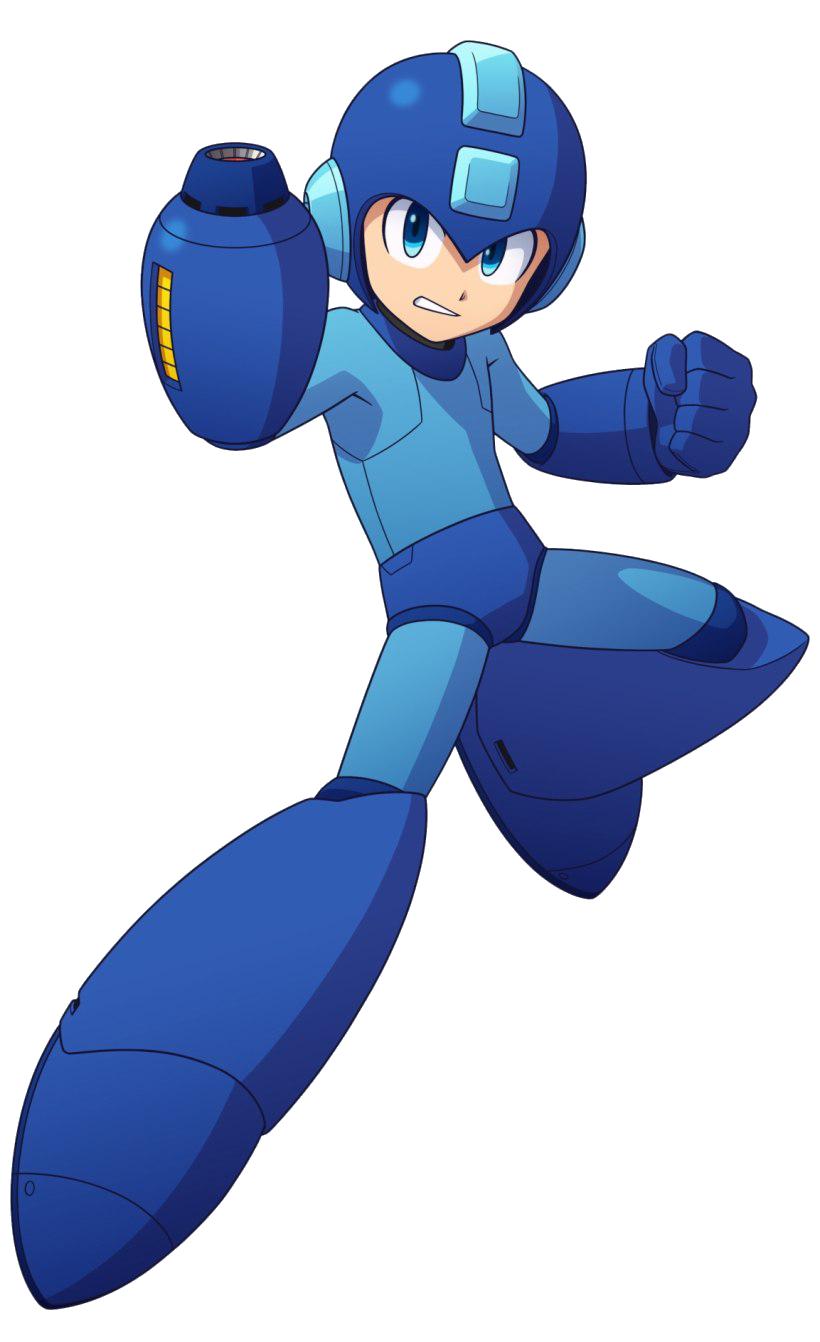 Megaman PNG Image Background.