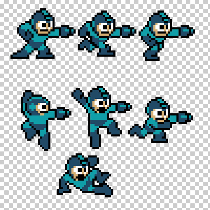 Art Sprite Drawing, megaman PNG clipart.