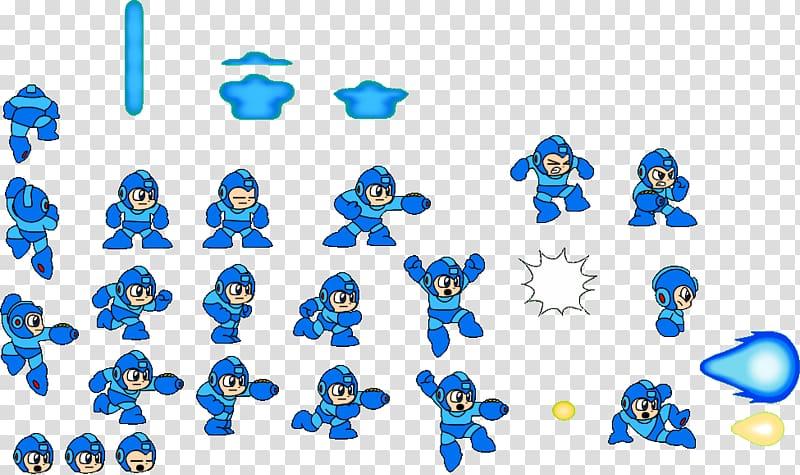 Man X7 Mega Man V Mega Man 2, sprite transparent background.