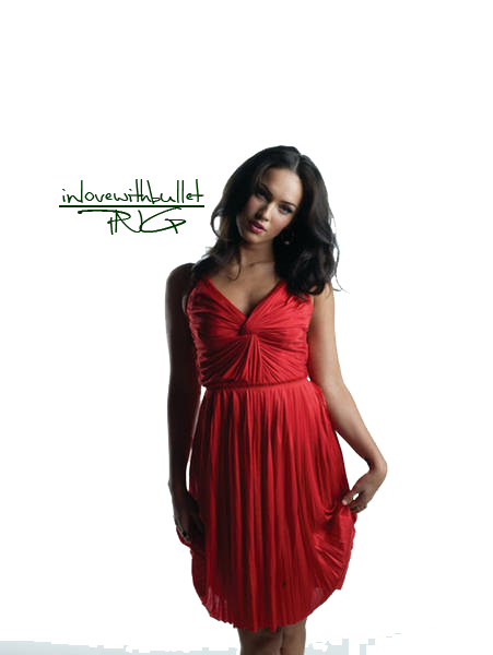 Megan Fox Clip Art.