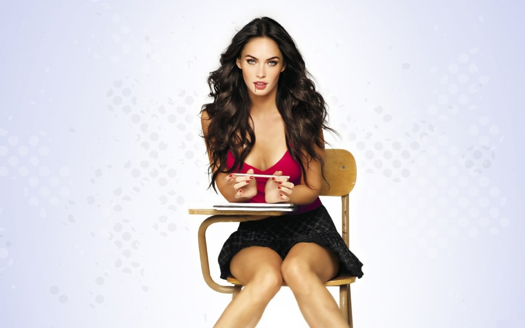 Megan Fox Hot Clipart.