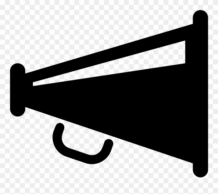 This Is An Icon Of A Megaphone.