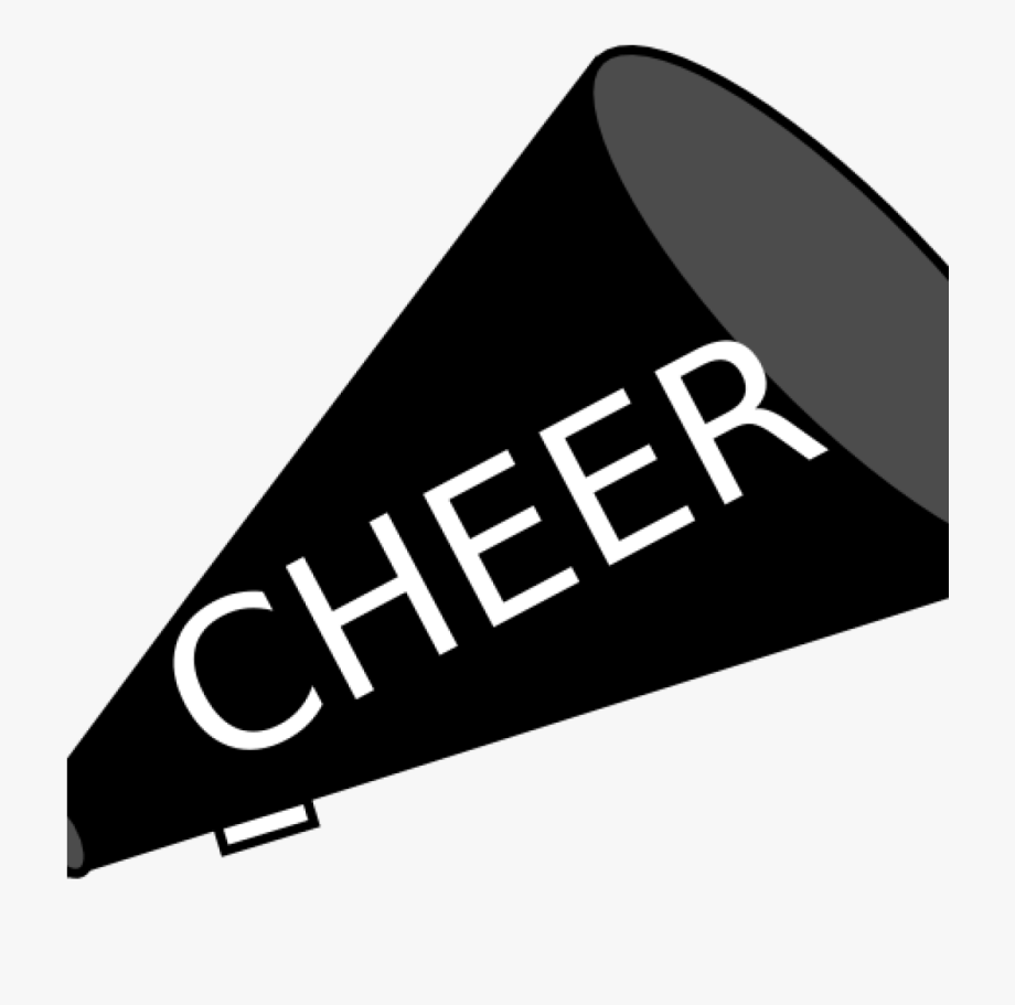 Cheer Megaphone Clipart Black And White, Cliparts & Cartoons.
