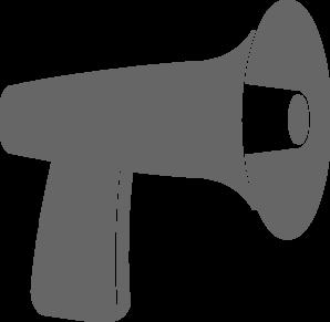 Megaphone Clipart Vector.