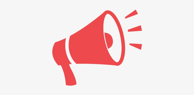 Red Megaphone Png.