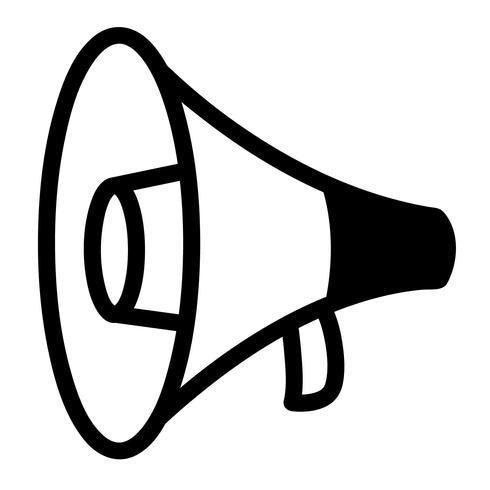 bullhorn megaphone siren.