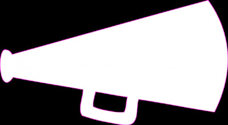 Megaphones clip art free clipart images.