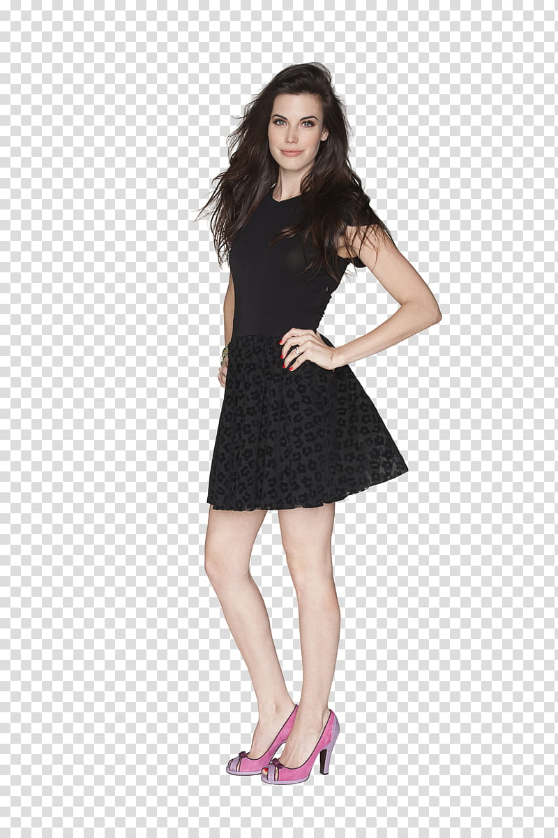 Meghan Ory , transparent background PNG clipart.